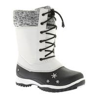 Baffin Girls' Avery Snow Boot Youth White