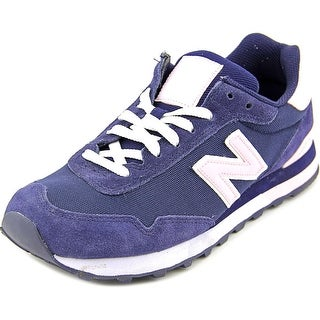 New Balance WL515 Women  Round Toe Suede Blue Sneakers