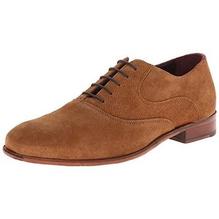 Ted Baker Mens Luhwice Suede Front Tie Oxfords - 10