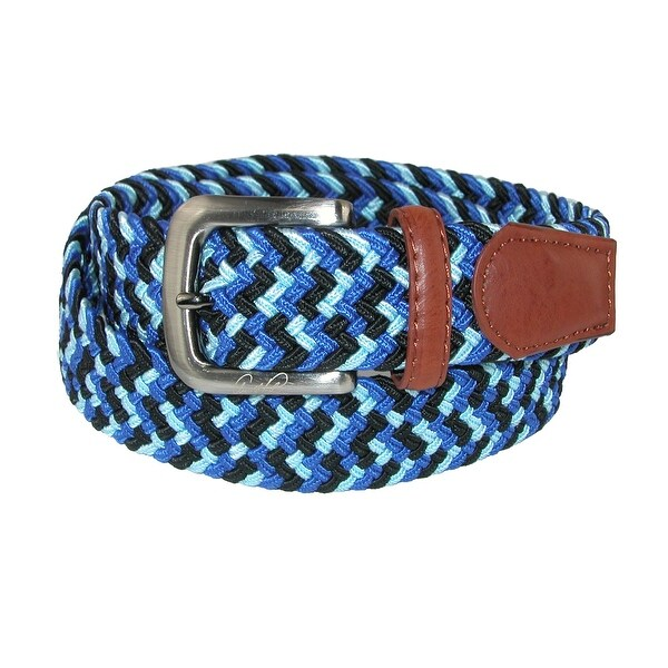 Arnold Palmer Men's Tubular Elastic Braided Belt
