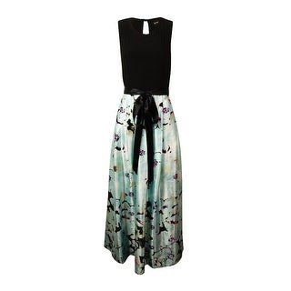 Betsy & Adam Woman's Floral Printed Dress - 4