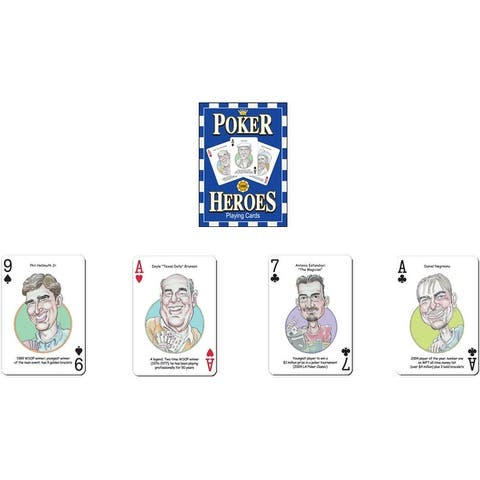 Poker Heroes Playing Cards - Multi