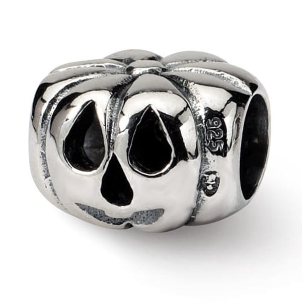 Sterling Silver Reflections Jack o Lantern Bead (4mm Diameter Hole)