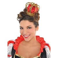 Mini Crown Adult Costume Accessory