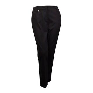 Tahari Women's 'Mike' Solid Gabardine Dress Pants (Option: 2)