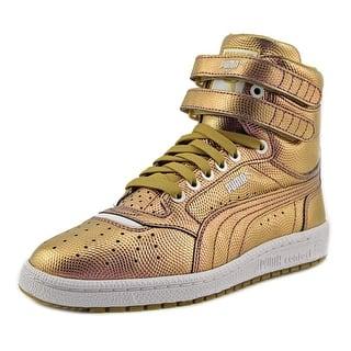 Puma Sky II Hi Holo Jr Youth Round Toe Leather Gold Sneakers|https://ak1.ostkcdn.com/images/products/is/images/direct/a12e7ef2a291f0dd488cfbfc5c32a8f63bdefb7c/Puma-Sky-II-Hi-Holo-Jr-Youth-Round-Toe-Leather-Gold-Sneakers.jpg?impolicy=medium