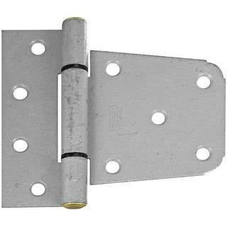 """Stanley Heavy Duty Gate Hinge, Galvanized, 3.5""""