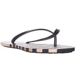 French Connection Filipa Flip Flop Sandals - Black