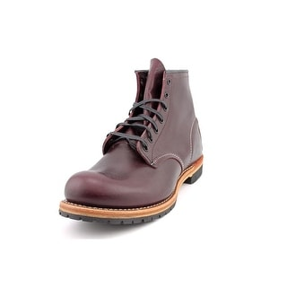 "Red Wing Shoes 6"" Beckman Men Round Toe Leather Burgundy Boot"
