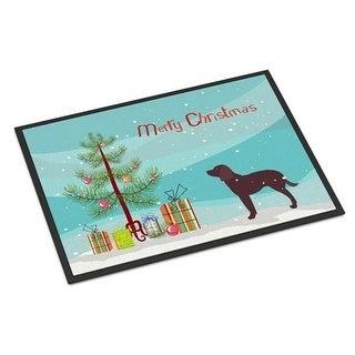 Carolines Treasures BB2919JMAT American Water Spaniel Merry Christmas Tree Indoor or Outdoor Mat 24 x 36