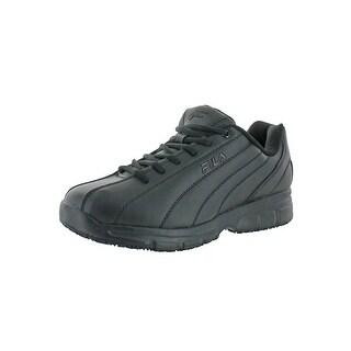 Fila Mens Memory Nite Shift SR Work Shoes Slip Resistant Memory Foam