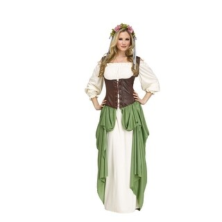 Womens Sexy Wench Medieval Costume