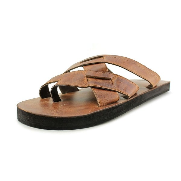 29 Porter Rd George Open Toe Leather Slides Sandal