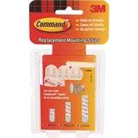 3M Command Replacemnt Strip