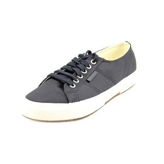 Superga SatinW Round Toe Canvas Sneakers