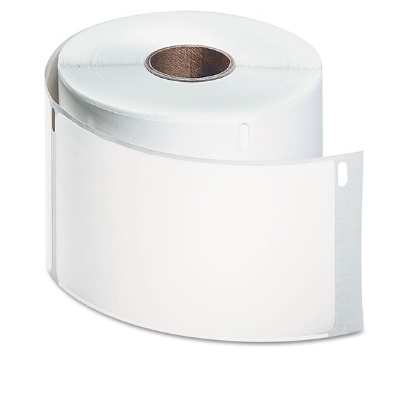 Dymo - Poly, White Label 2 5/16In X 4In, 250 Per Roll, 1 Roll Per Box