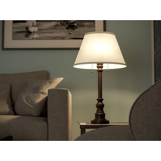 Link to Davies 31-inch Bronze Table Lamp Similar Items in Table Lamps