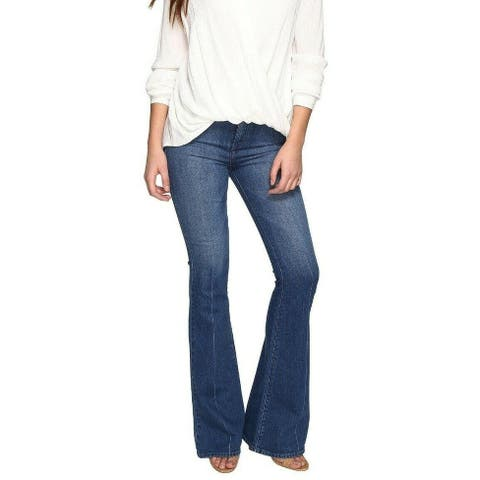 TJD The Jet Set Diaries Women's Jeans Blue Size 25 Flared Stretch
