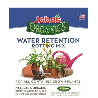 Easy Gardener 08748 Jobes Water Retaining Potting Mix, 8 Quart