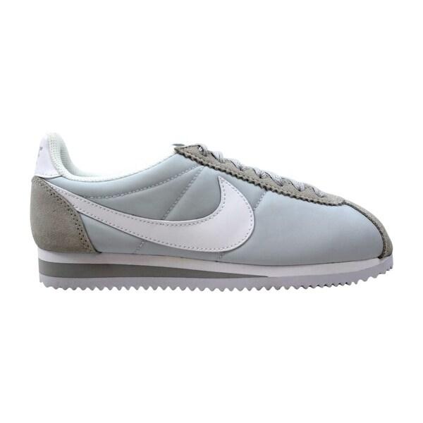 Shop Nike Classic Cortez Nylon Pure PlatinumWhite 749864