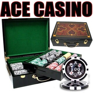 PSC-0103G 500 Ct - Pre-Packaged - Ace Casino 14 Gram - Hi Gloss