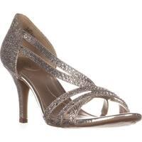 Bandolino Meggie Strappy Evening Sandals, Gold