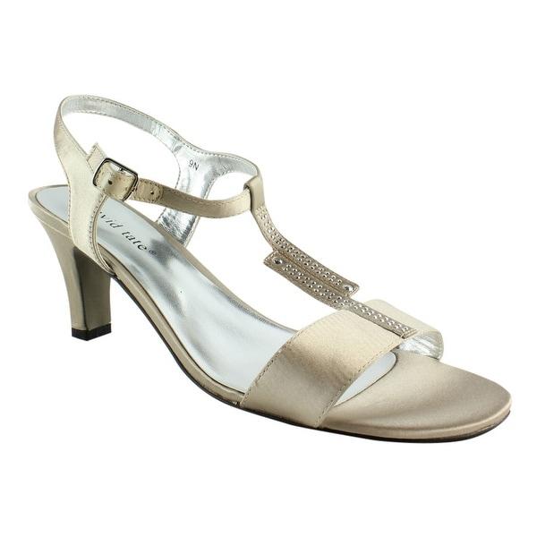 6f2e74797 Shop David Tate Womens Stargaze-276 Champagne Ankle Strap Sandals Size 9  (AA