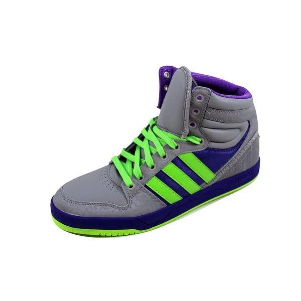 Adidas Men's Court Attitude Aluminum/Green-Purple GIOIA G99100