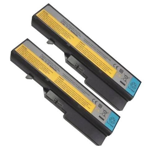 Replacement For Lenovo 121000935 Laptop Battery 11.1v 4400mAh Li-Ion - 2 Pack