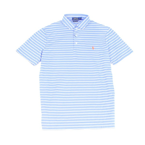 b151bbb3 Shop Polo Ralph Lauren NEW Blue Mens Size 2XL Striped Classic-Fit Polo Shirt  - Free Shipping Today - Overstock - 19403440