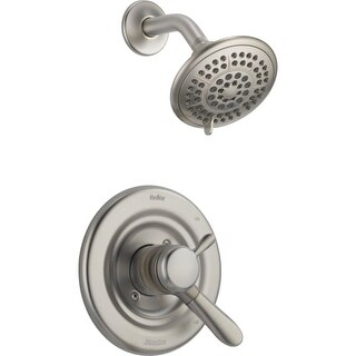 Delta T17238 Lahara Monitor 17 Series Dual Function Pressure Balanced Shower Trim Package with Touch Clean Shower Head and