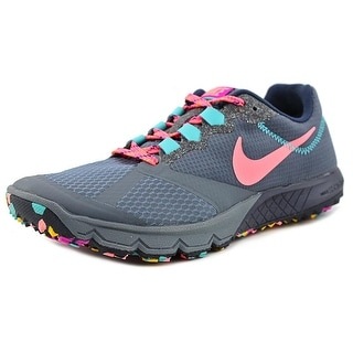 Nike Air Zoom Wildhorse 2 Women Round Toe Synthetic Gray Running Shoe