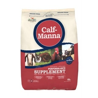 Manna Pro 0093982232 Calf-Manna Performance Supplement, 10 Lb