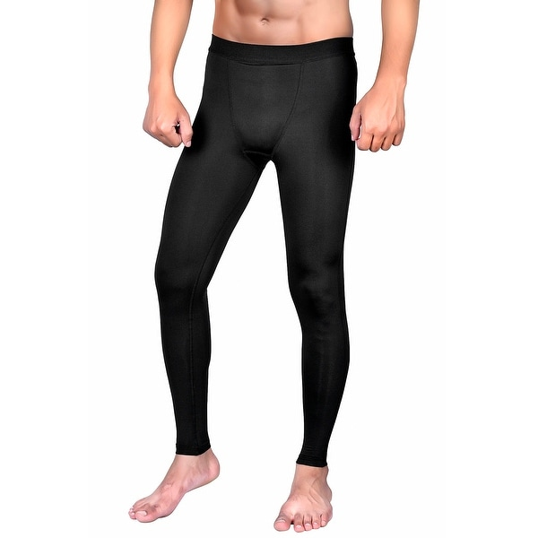 7bd8ffbc01 Shop Mens Compression Pants Cool Dry Baselayer Gym Leggings Yoga ML2 ...
