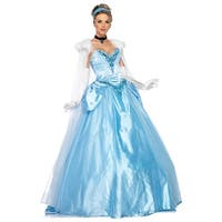 Leg Avenue Disney Princess Deluxe Cinderella Adult Costume - Blue