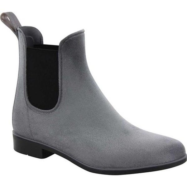 66bb5aed9f7cb Shop Chooka Women's Vivien Velvet Chelsea Boot Gray - Free Shipping ...