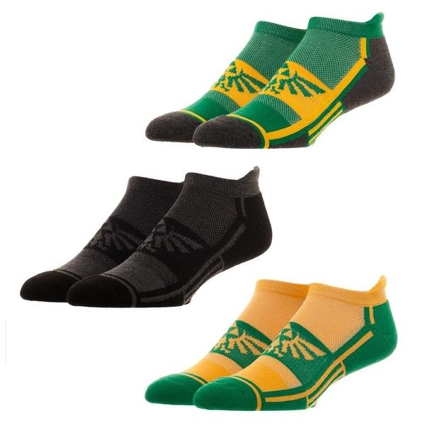 Zelda 3 Pair Active Ankle Socks