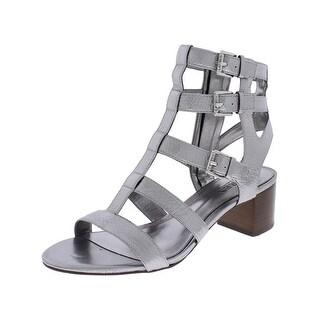 Lauren Ralph Lauren Womens Miri Gladiator Sandals Leather Open Toe