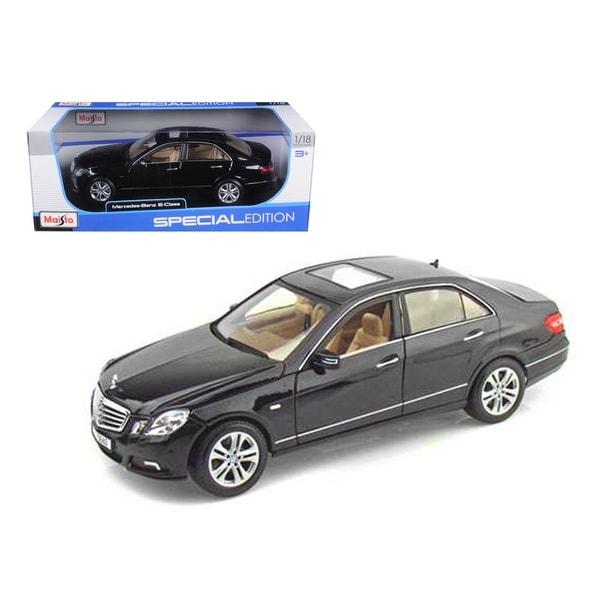 Shop 2009 2010 Mercedes E Class E350 Black 1/18 Diecast ...