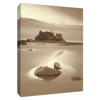 "PTM Images 9-154797  PTM Canvas Collection 10"" x 8"" - ""Olympic National Park"" Giclee Beaches Art Print on Canvas"