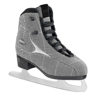 Roces Women's Brits Figure Ice Skate Superior Italian Sand Plaid 450557 00010