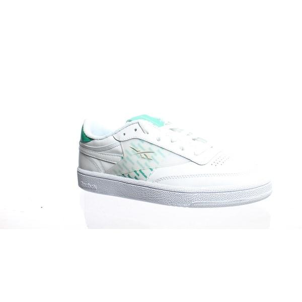 Reebok Womens Club White Tennis Shoes