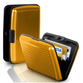 Waterproof Aluminum Business Id Credit Card Wallet Holder Pocket