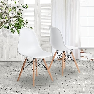 VECELO Eames Style Side Chair , Set of 2 Dining Chair