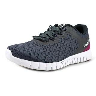 Reebok Zquick Lite Women  Round Toe Synthetic Blue Running Shoe