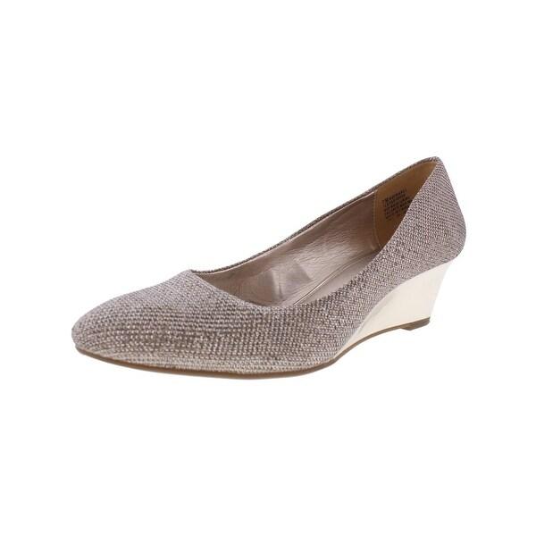 Bandolino Womens Franci Wedge Heels Round Toe