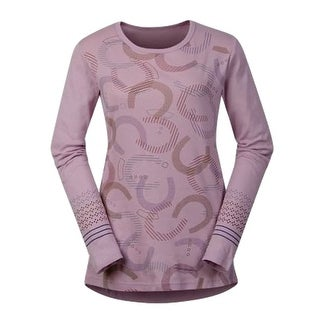 Kerrits English Shirt Womens Hoof Print L/S Tee Base Layer 40593