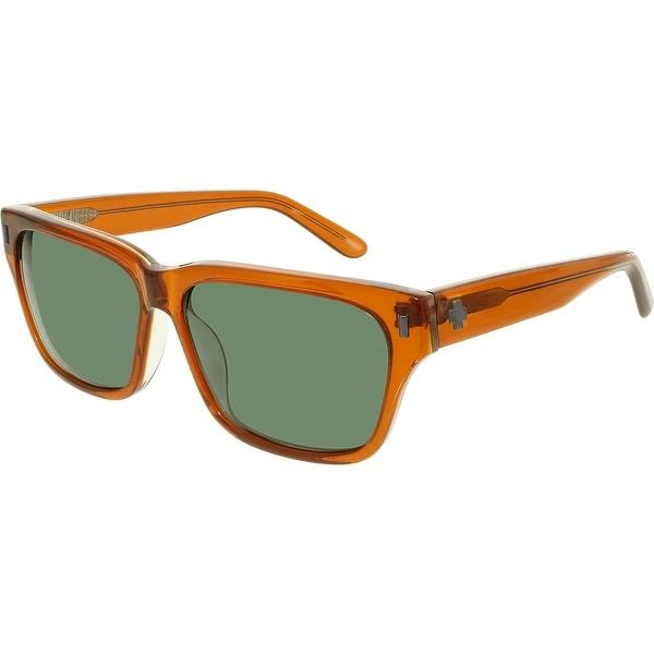 564de300bbe52 Shop Spy Men s 673361812863 Brown Square Sunglasses - Free Shipping ...