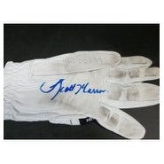 Signed McCarron Scott Used Golf Glove autographed