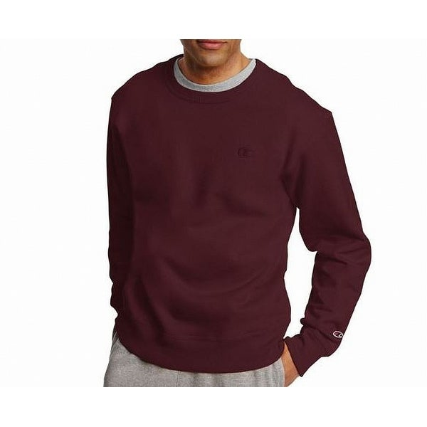 894cf00277c9 Shop Champion Solid Red Mens Size XL Pullover Fleece Crewneck Sweater -  Free Shipping On Orders Over  45 - Overstock - 27287936